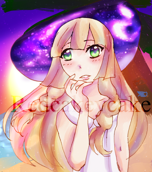 Lillie (SpeedPaint link in desc!) by Redcakeycake