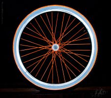 Glowing Wheels by Raneem90