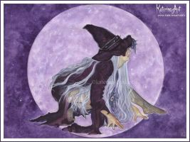 Wicked Moon by Katerina-Art