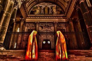HDR Berlin Cathedral at Festival of Light 2012 by daPerforM