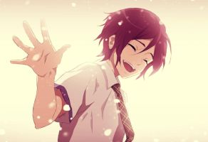 Little Rin Matsuoka (Free!) by EmaReoNervosityDraws