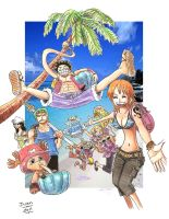 One Piece SUMMER v2 by peaceelectronics