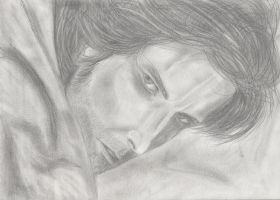 Guy of Gisborne's get-back stare by gaaraxel-13
