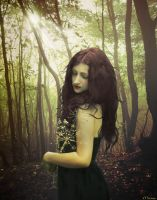 The Lady Of The Forest by maiarcita