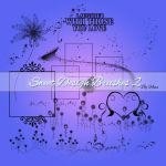 Sweet Design Brushes 2 by Flina-Stock