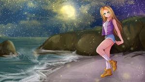-- Harvest Moon: Karen 1 of 2 -- by Kurama-chan