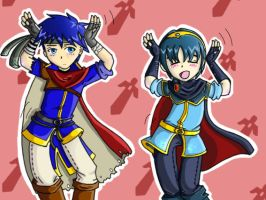 Ike and Marth Caramelldansen by Le-sugar-n-spice