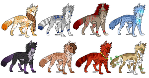 :Wolf Adopts | You're on your own: by MamaMadi