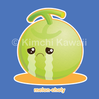 Melon-choly by kimchikawaii