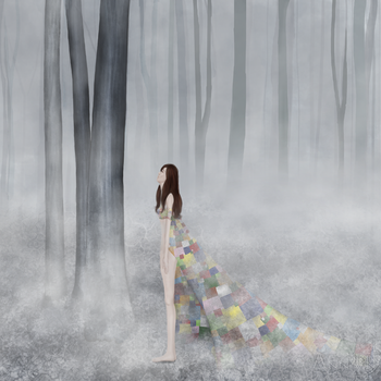 Dreamer in the woods by Missing-Annwn