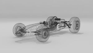 Lotus Wireframe by Xpunk75