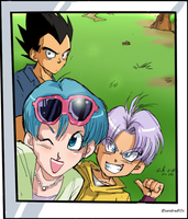 dragonball :super preview of the trip by Sandra-delaIglesia