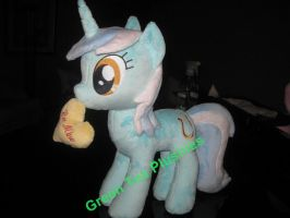 Lyra Heartstrings Plush by GreenTeaPlushies