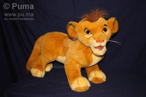 Lion King Cub Simba by Douglas by dapumakat