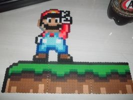 Mario Wall Perlers - Set 1 by Libbyseay