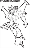 TFA - Starwing Magnus Outline by Edge14