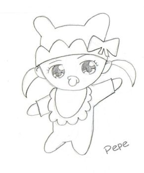 Pepe-chan by MsDoodles