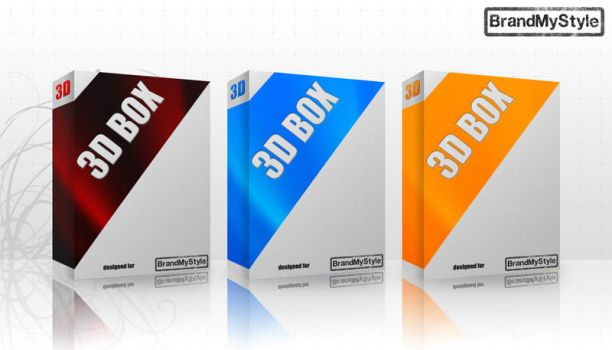 3D BOXES PACK v1.0 by brandmystyle