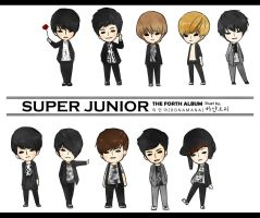 'cursor' Super Junior Bonamana by annisaretry