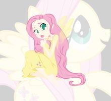 Fluttershy by RaineKitty