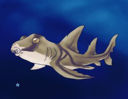 Shark Week: Port Jackson Shark by Ederoi