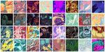 Palette Pokemon [Icon Pack] by FallenZephyr