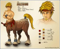 Alexios - CharacterSheet by Lizkay