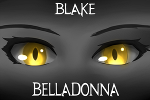 Eyes - Blake Belladonna by Madgamer2k7