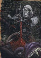 Witcher the final strike by rottenband