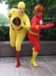 Red vs. Yellow by Wiccanslyr