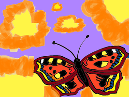 Butterfly, welcome Summer :D by Stlbluesgirl101