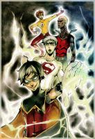 Young Justice  - Thunder by XMenouX