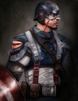 Captain America by Mrahart