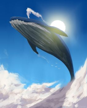 Skywhale by putridCheese