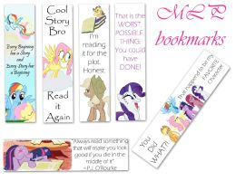 MLP Bookmarks by lovergirl786