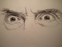 Saruman Eyes by TheRevenance
