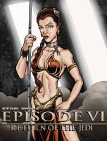 slave leia by lordsmiley