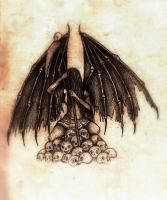 Angel of death by Fahra214