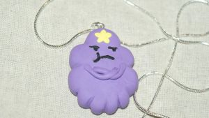 LSP - Lumpy Space Princess necklace by WhimsicallyObsessed