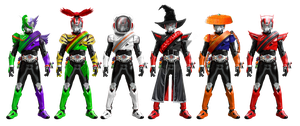 Kamen Rider Drive Neo-Heisei Shift-cars by tuanenam