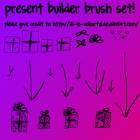 present builder brush pack by ali-is-colourful