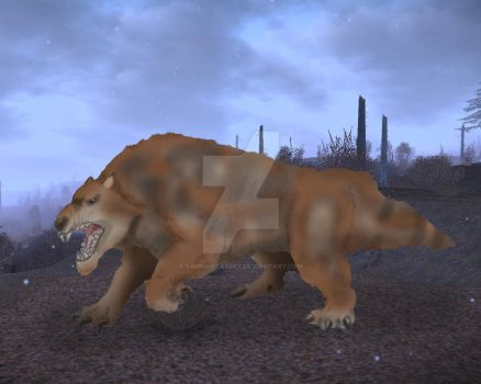 Marsupial Lion - Thylacoleo by SaurianTarget