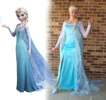 Cosplay - Elsa (Snow Queen) by gallopingcowgirl
