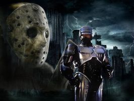 JASON VS ROBOCOP THE MOVIE by Darkness-Man