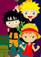 Ichi-luffy-naru by happy-ashler
