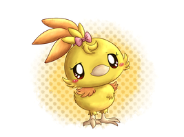 Olivia  'Livi'  the Shiny Torchic by fuwante-chan