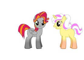 Silver and Marshmallow Candy Adoptables. by Names-Tailz