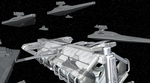 Spore: Imperial Fleet Refueling by Cyrannian