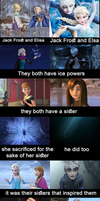 Jack Frost and Elsa are meant to be by AngelUnicorn123