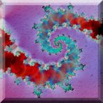 Colorful chaotic wet spiral by cristy120377